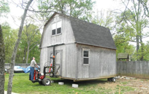 Portable Storage Building Movers | Dandk Organizer