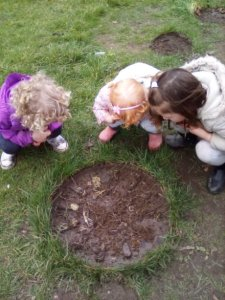 Hill Top Tots Day Nursery, Talke Stoke-on-Trents first Forest School