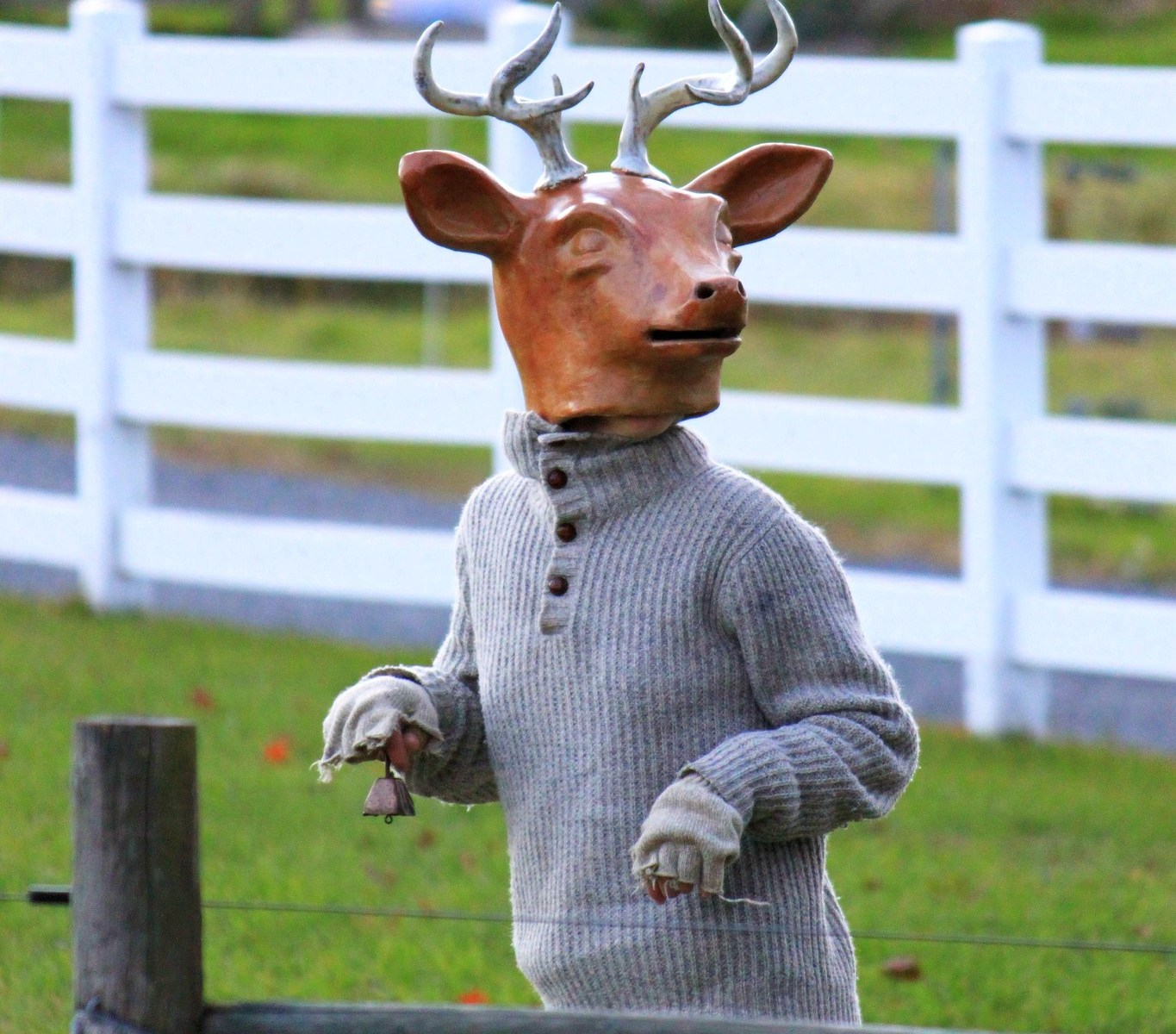 Photo: Deer mask costume