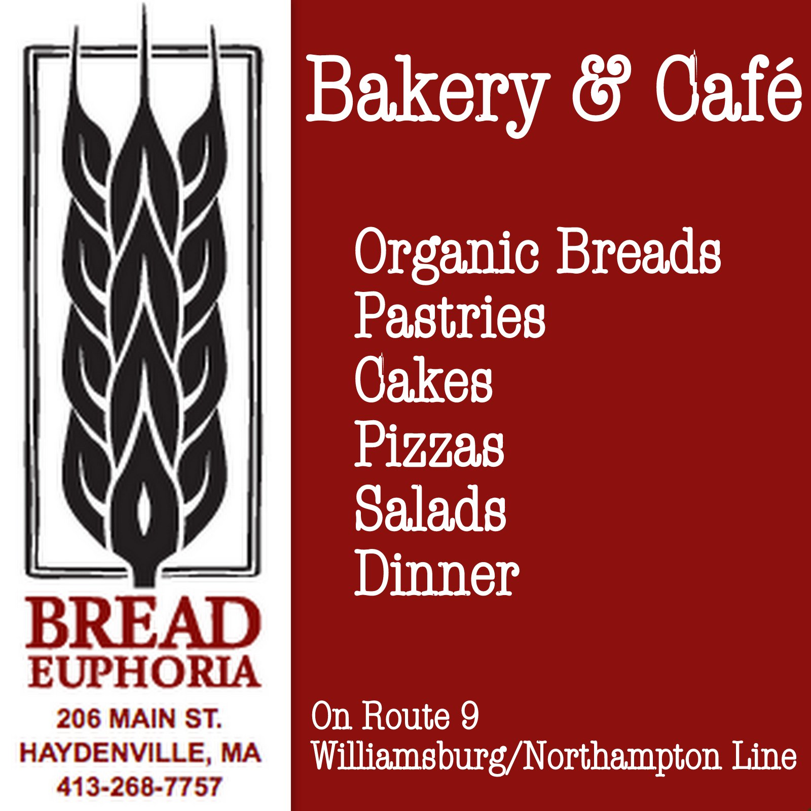Sponsor image for Bread Euphoria Bakery & Cafe