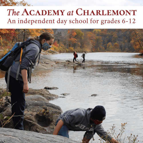 Sponsor image for The Academy at Charlemont, an independent day school for grades 6-17 in Charlemont, MA.