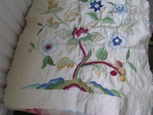 Phillipa Turnbull's Crewelwork Tulip