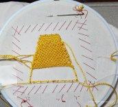 needlelace practise 2