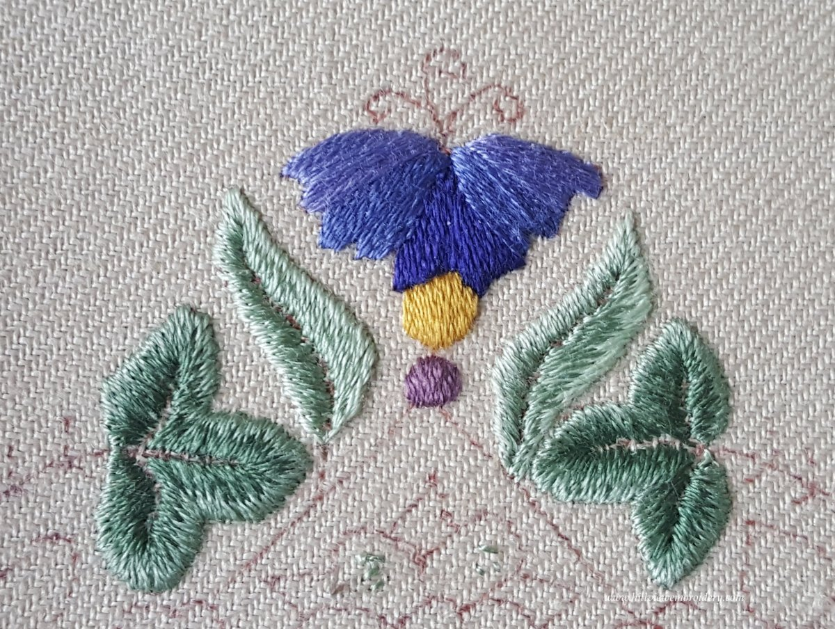 first two completed narrow leaves