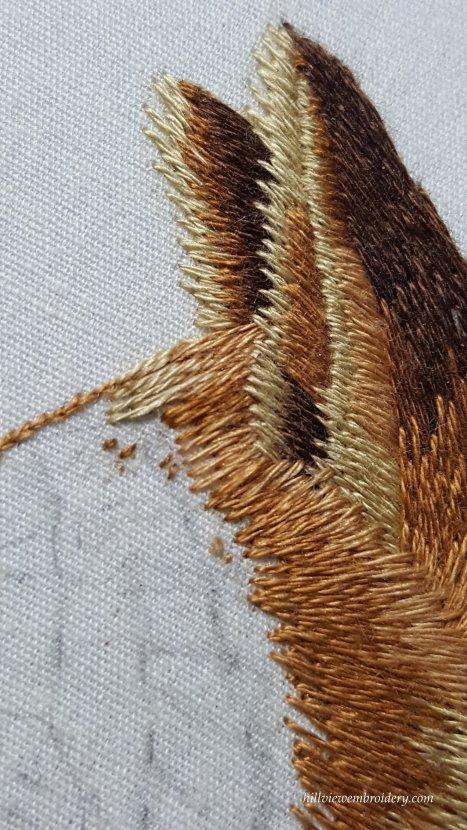 fox head detail