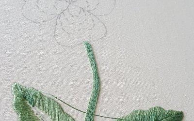 Sunday stitches – Back to stitching at last!