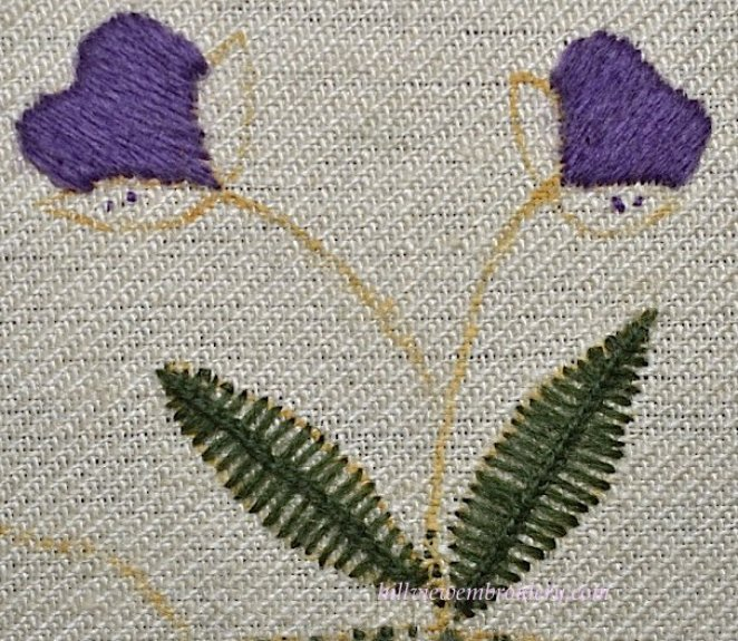 completed-satin-and-van-dyke-stitches