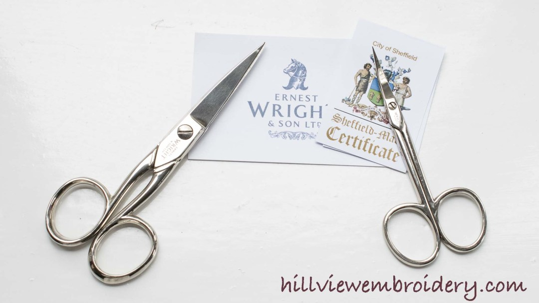Ernest Wright scissors are still handmade in England