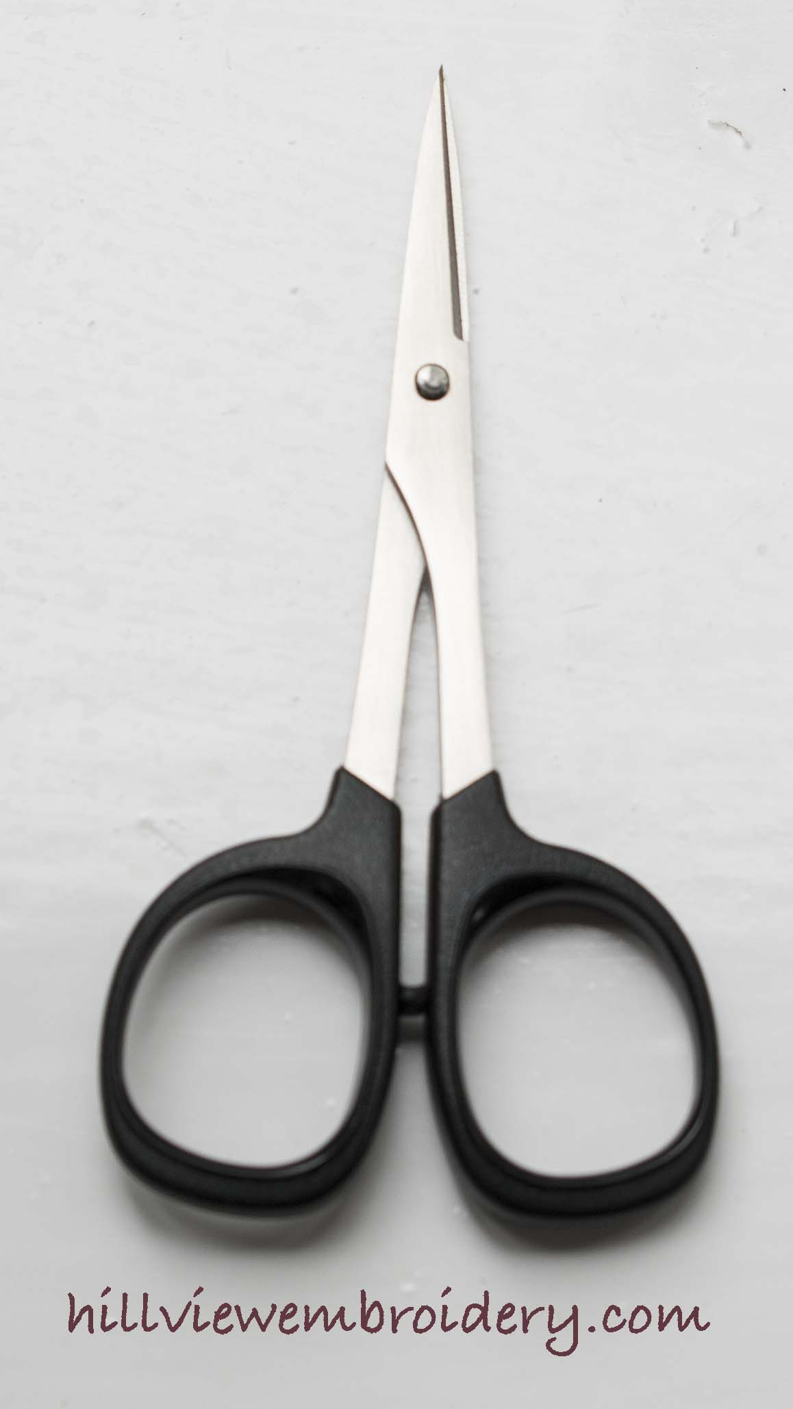 The fine and sharp embroidery scissors by Kai