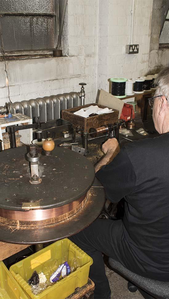 Making copper pearl purl