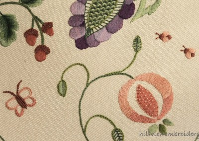 Modern Crewelwork - 'Fruitful Abundance'