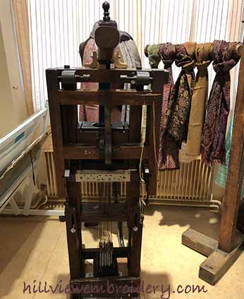 jacquard weaving machine