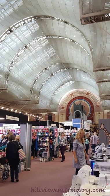 A Trip to the Knitting and Stitching Show