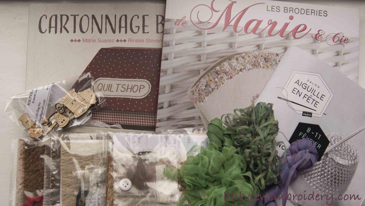 Paris fair purchases
