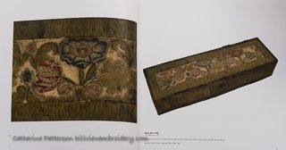 Casket with Jacobean Crewelwork