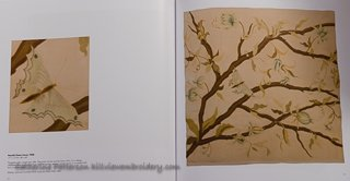 More modern example of crewelwork found in Phillipa Turnbull's collection