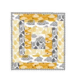 Rough design for mini-quilt