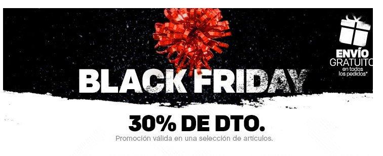 Black Friday Chollazo tienda Reebok 30 + 15 % de descuento!