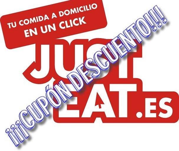 Código descuento para Just-eat 6 € sin pedido mímino