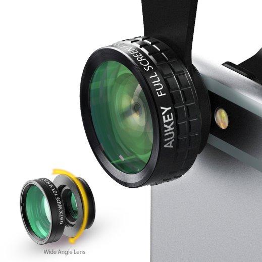 Kit de lentes de ojo de pez