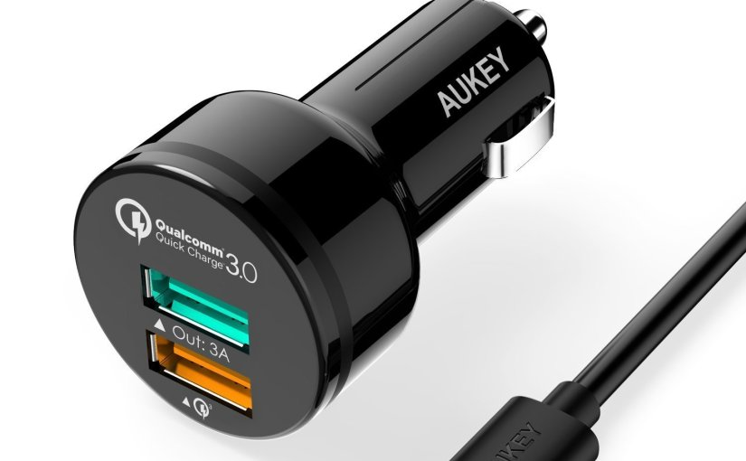 Review AUKEY Quick Charge 3.0 Cargador de Mechero
