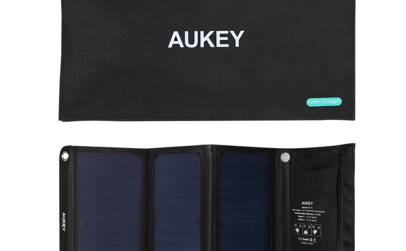 Review cargador solar aukey