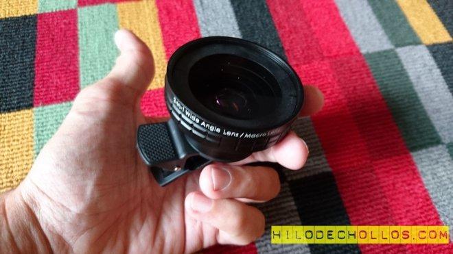 lente para móviles aukey