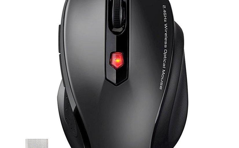 Ratón 2.4GHz 2400 DPI Inalámbrico Gaming