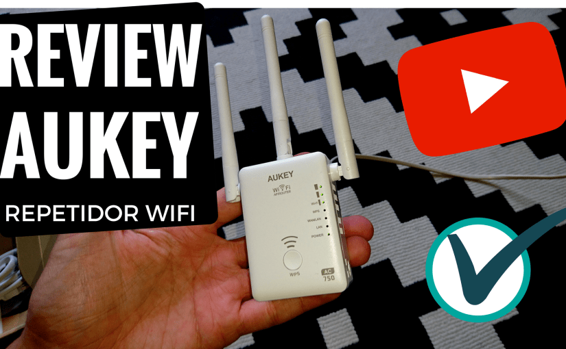 Review repetidor wifi AUKEY WF-R7 Doble Banda 5GHz + 2.4GHz
