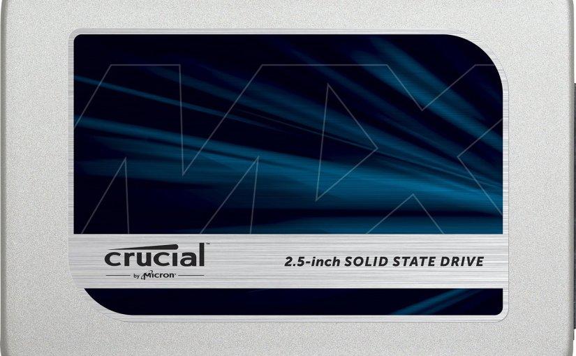 Chollo en SSD de 525 GB de la marca Crucial