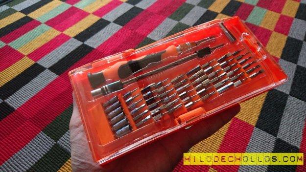 chollo kit destornillador