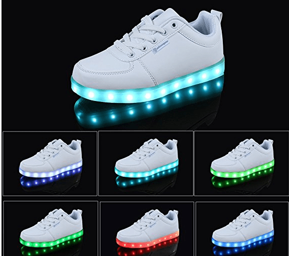 Últimos chollos del black friday – Zapatillas con luces LED baratas
