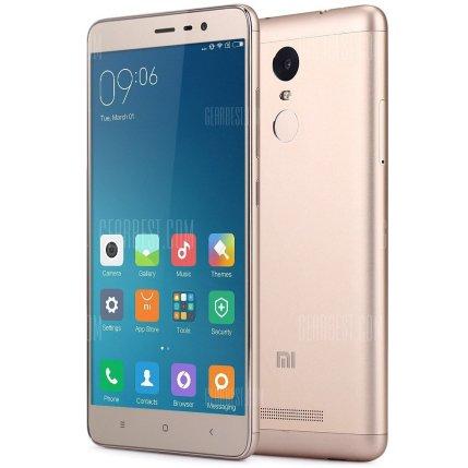 XIAOMI Redmi Note 3 Pro 16GB 4G Phablet