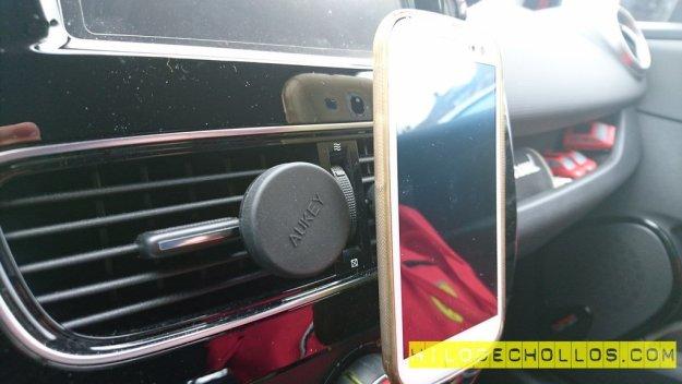 soporte teléfono móvil coche