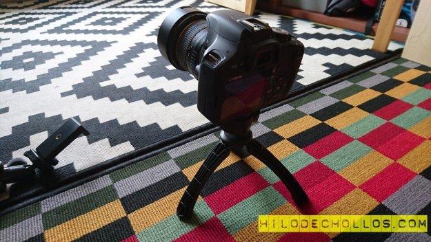 mini trípode canon