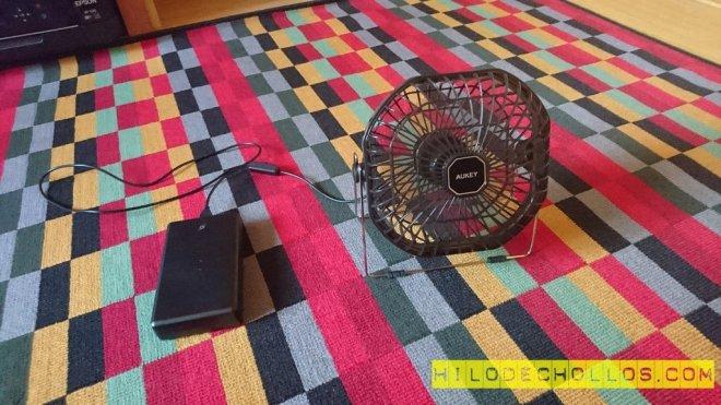 ventilador con batería