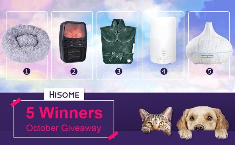 Atentos! sorteo de productos GRATIS de Hisome!