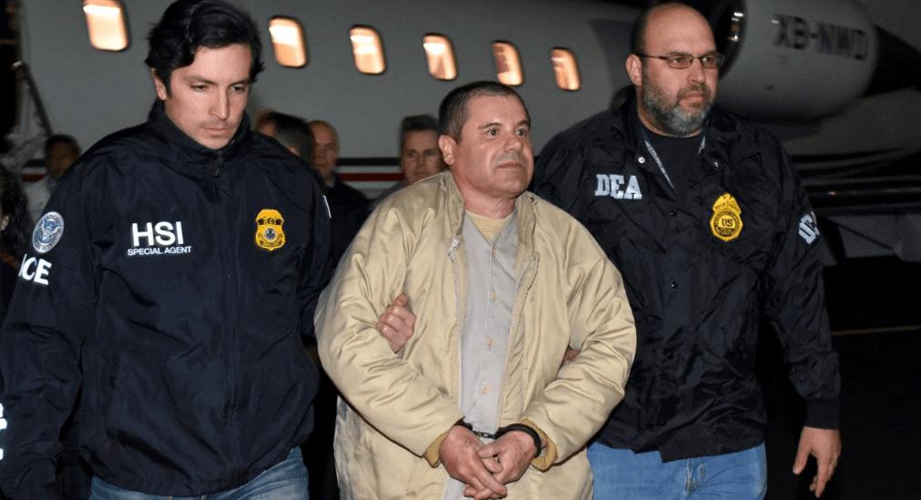 'El Chapo' Guzmán llega a Nueva York (VIDEOS)