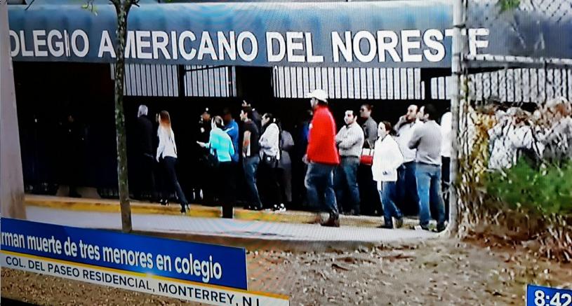 Alumno de secundaria dispara en colegio de Monterrey: 5 heridos (VIDEO)