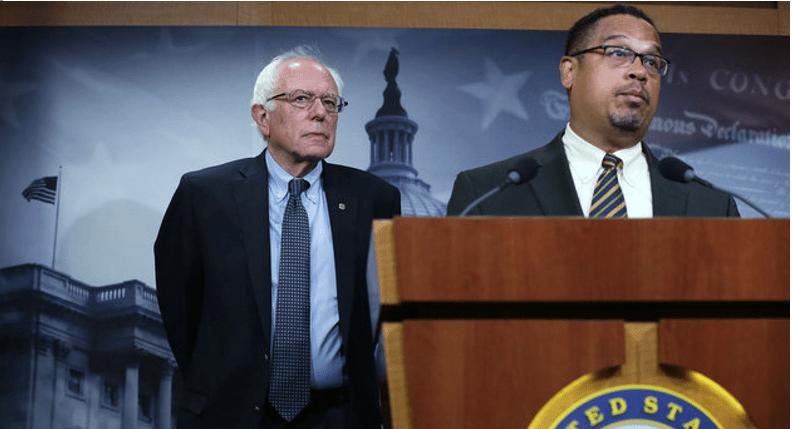 Con el nuevo líder demócrata vuelven a marginar a Sanders