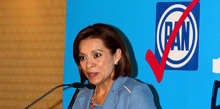 Vázquez Mota se registra como precandidata del PAN en el Edomex