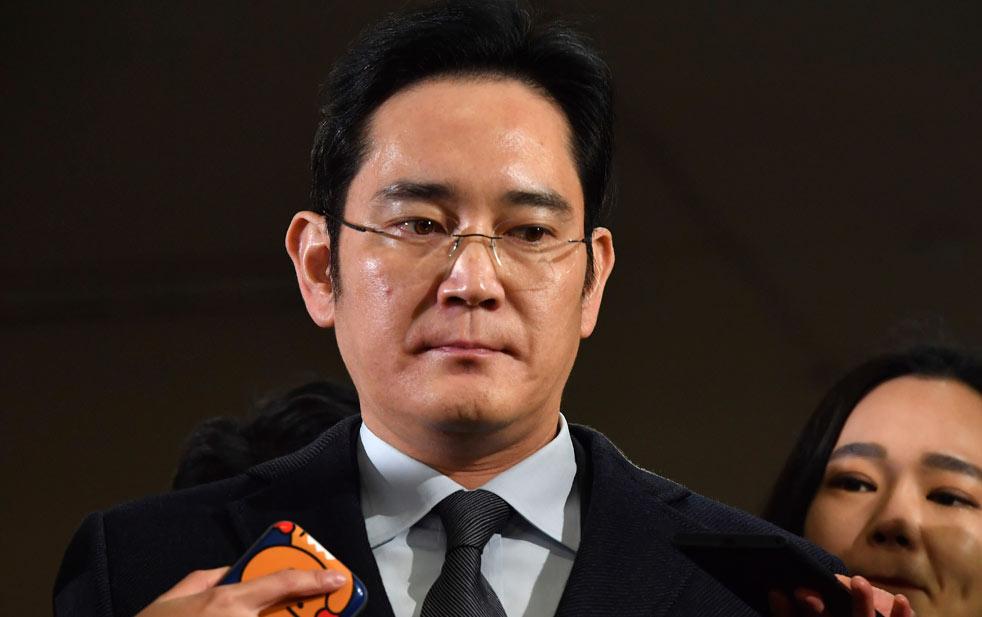 Arresto del jefe de Samsung descarrila sucesión del emporio