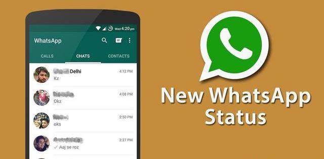 """""""Estatus"""" permite subir fotos y videos en los estados de WhatsApp"""