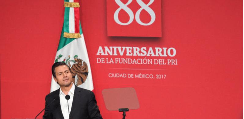 Con Peña Nieto, el PRI va en caída libre, afirma The Washington Post
