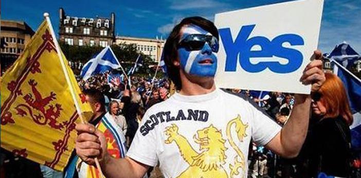 Escocia aprueba otro referéndum independentista