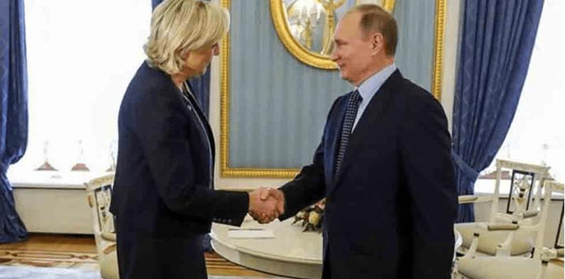 Merine Le Pen se reúne con Putin en Moscú (VIDEO)