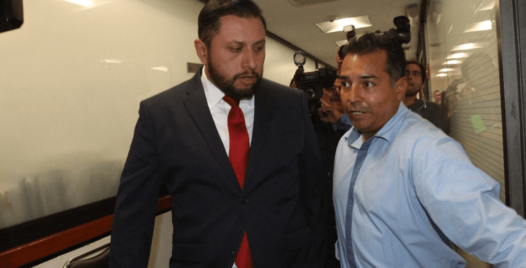 Tarín se atrinchera en San Lázaro para impedir su detención (VIDEO)
