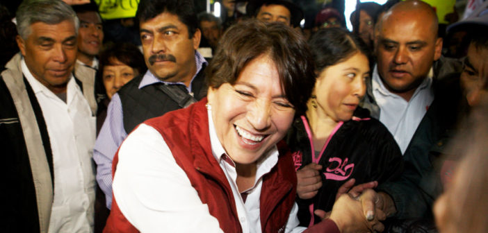 Tribunal Electoral multa al PAN por calumniar a Delfina Gómez