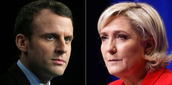 Le Pen y Macron, a segunda vuelta por la presidencia de Francia