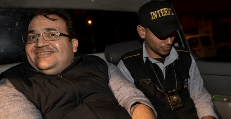 La PGR todavía no solicita a Guatemala la extradición de Javier Duarte